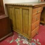 Oak Pedestal Desk