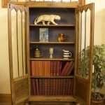 Oak Art Deco style Bookcase, Circa 1925