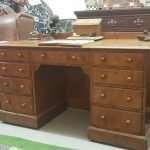 Pitch Pine Victorian desk