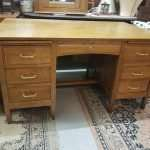 Oak Office desk Circa 1925
