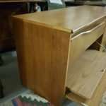 1960's teak tv and record player unit