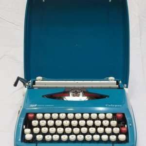 SMC Smith Corona Calypso typewriter, Circa 1960
