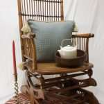 Arts & Crafts style 'American Rocker' Rocking chair, Circa 1900