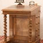 Walnut Davenport Desk, Circa 1880