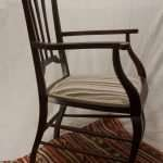 Mahogany Edwardian Elbow Chair, Circa 1900s