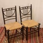 Pair of Sussex Chairs, 1865-1885
