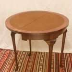 Half moon Card Table, Circa 1950