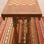 Walnut Chess Table, Circa 1800s
