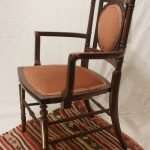 Mahogany Occasional Chair, Circa 1910