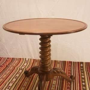 Barley sugar twist table, Circa 1860.