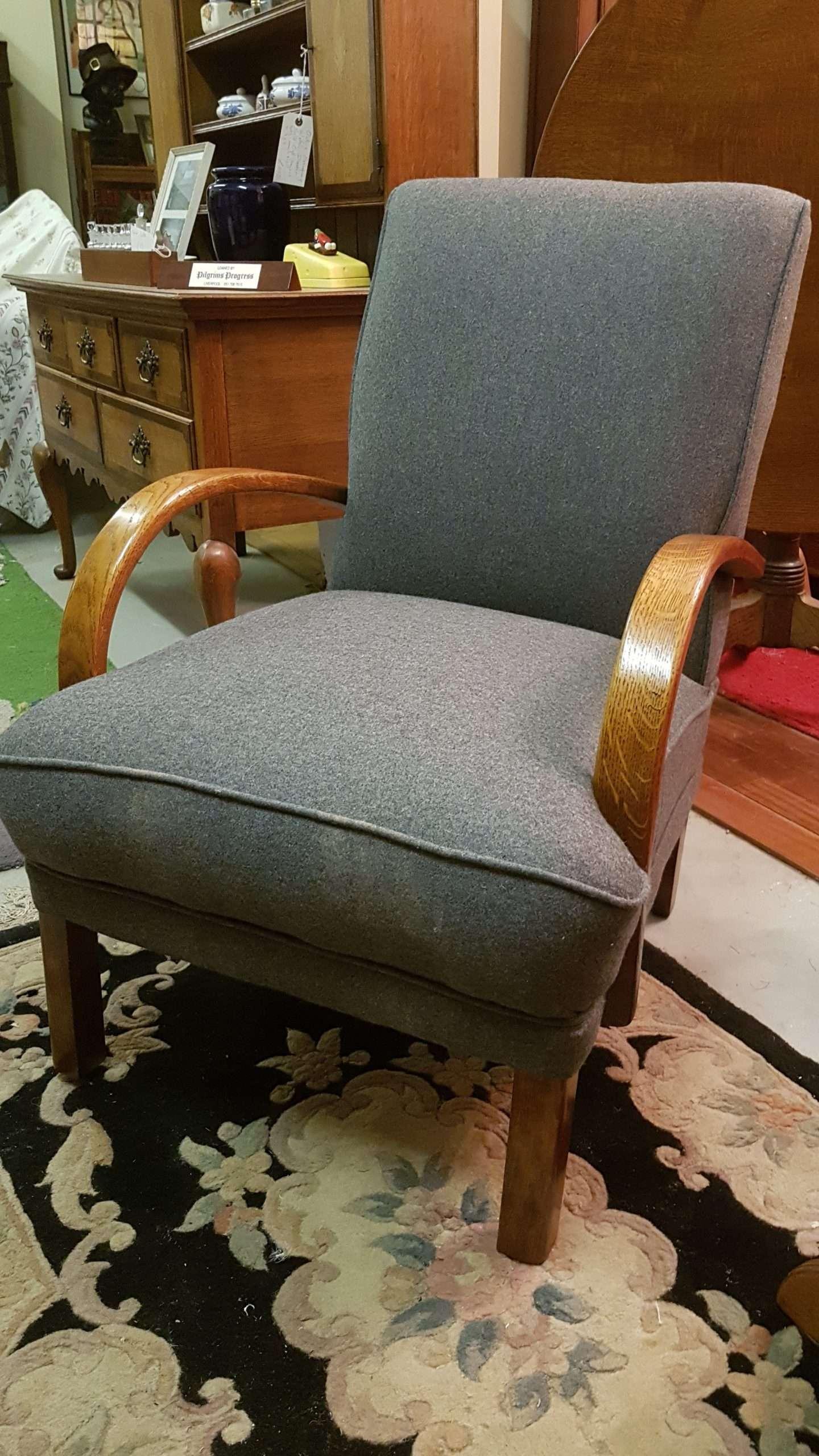 1930's Oak Armchair