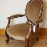 Victorian rosewood armchair, Circa 1860s