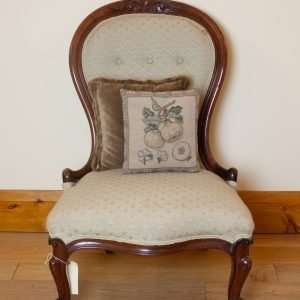 Victorian nursing chair, Circa 1870s