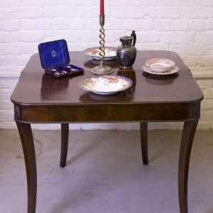 Regency card table, Circa 1790