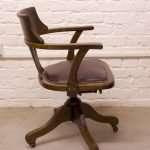 Oak Office chair, Circa 1900