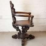 Dutch swivel chair, Circa 1800s