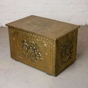 Brass shoe box, Circa 1930